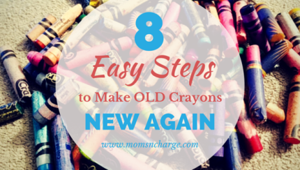 8 easy steps to make old crayons new again