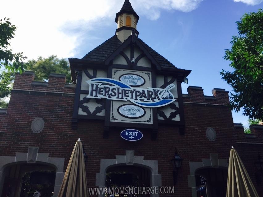 #HersheyPark - exit - momsncharge