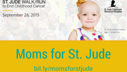 Moms for St. Jude feature