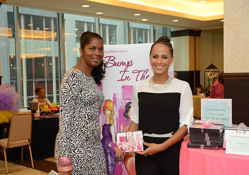 Founder, Monica Byrd with Nicole Ari Parker who co-hosted the 2013 BBB Expo