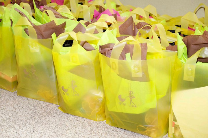 Swag bags enjoyed by guests at Baby Bash and Bling