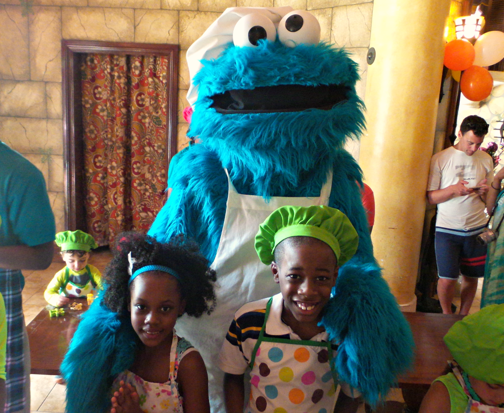 cookie monster beaches resorts 1