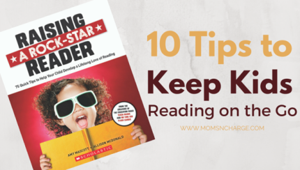 10 Tips to keep kids reading