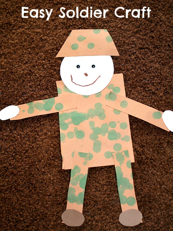 4 Super Easy Veteran's Day Crafts For Kids - Moms 'N Charge®