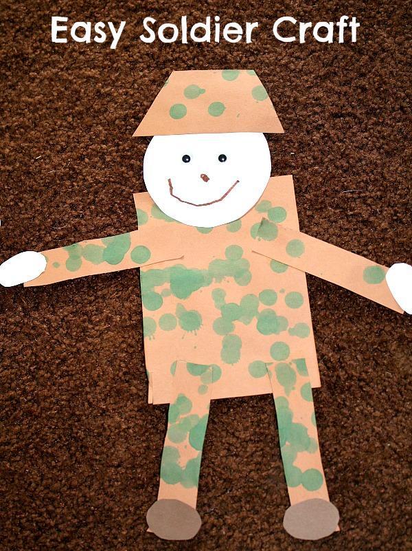 Kids Vetrans Day Crafts