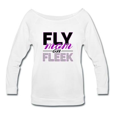 FLYmom on fleek - long sleeve white