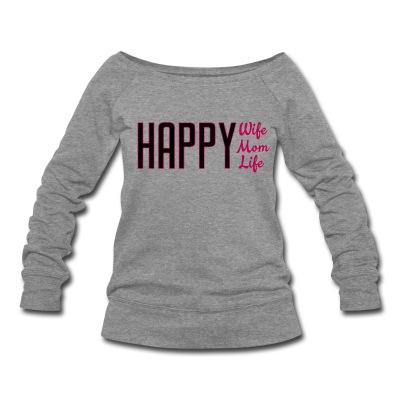 Happylife - grey sweatshirt