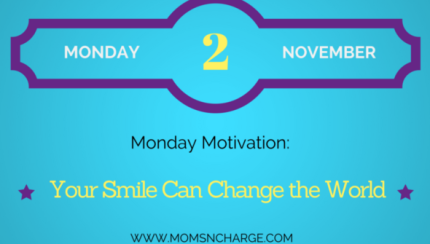 motivational monday - use your smile quote