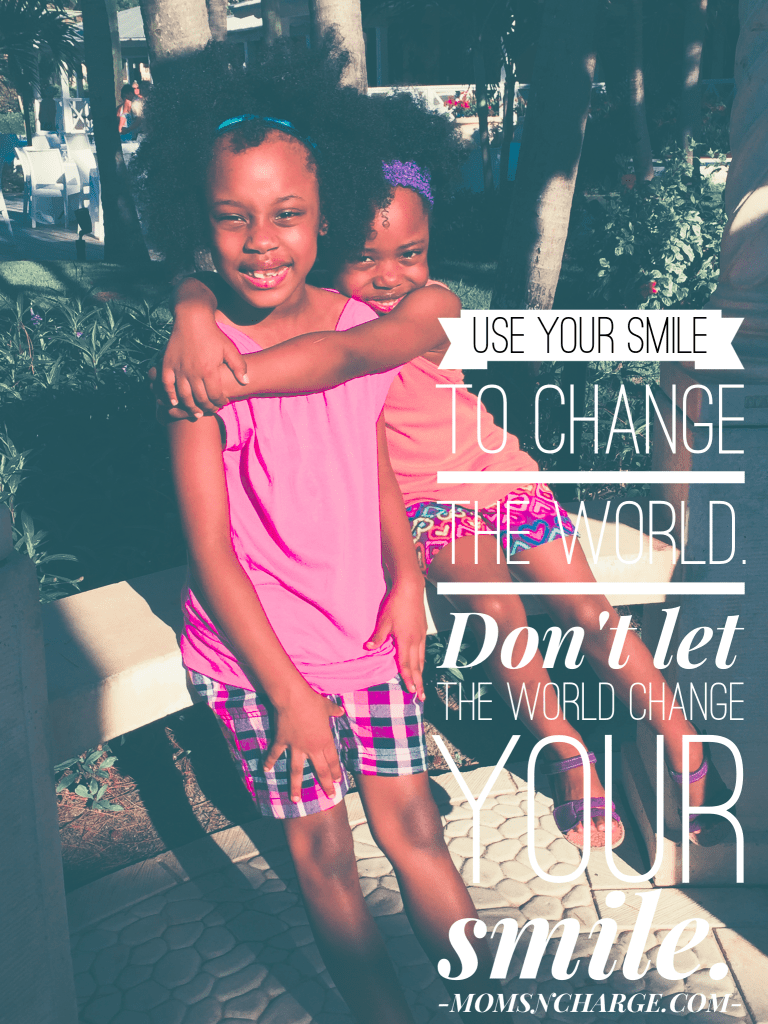 use your smile to change the world quote