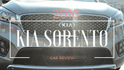 2016 KIA SORENTO feature image