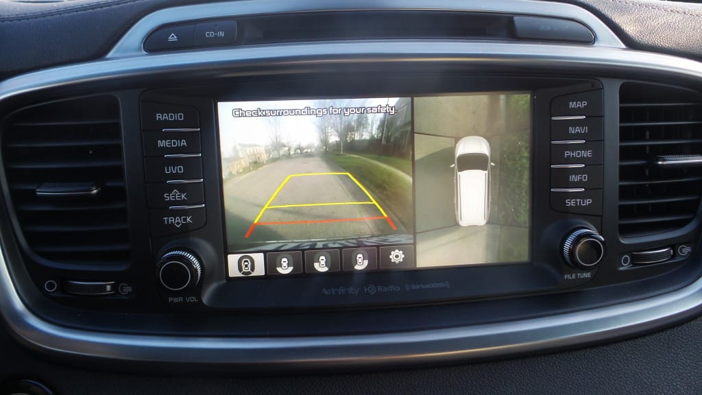 2016 Kia Sorento - MomsNcharge review camera