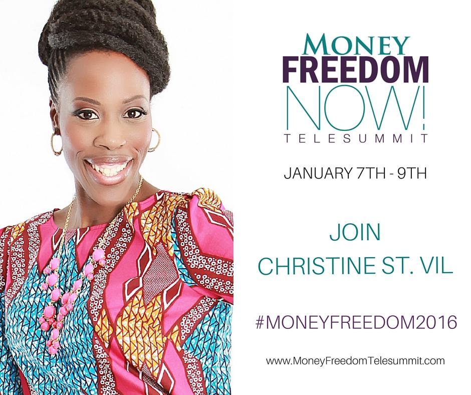 Christine St.Vil #MoneyFreedom2016 speaker