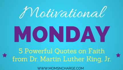 Motivation Monday: powerful MLK quotes
