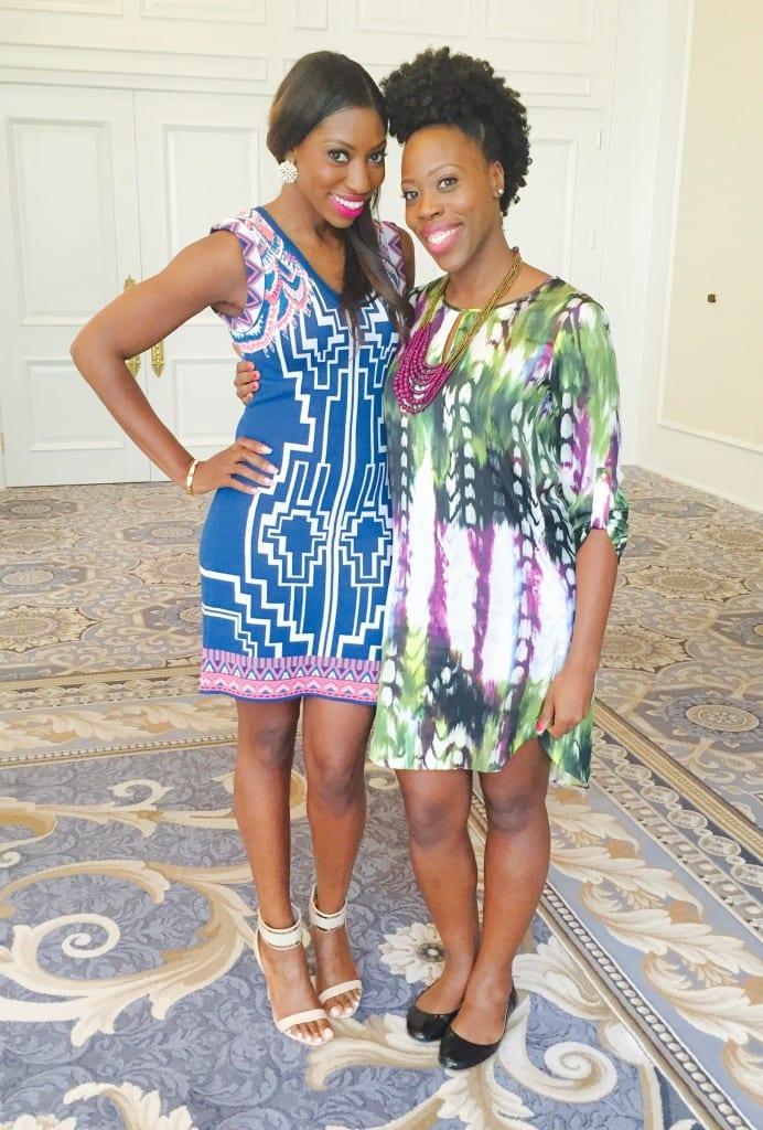 Patrice Washington and Christine St.Vil