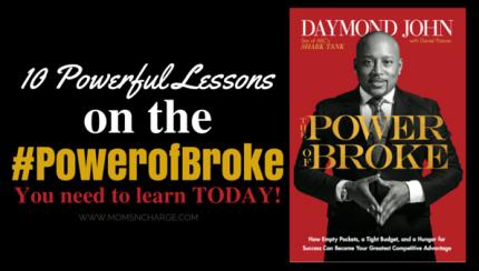 #powerofbroke book review - momsncharge - daymond john