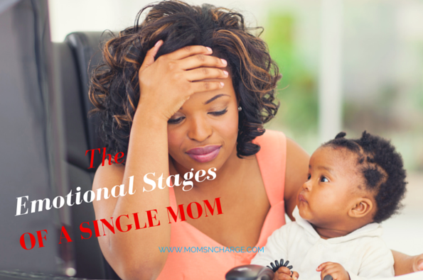 Single mom parenting emotions