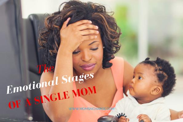 Single mom parenting emotions