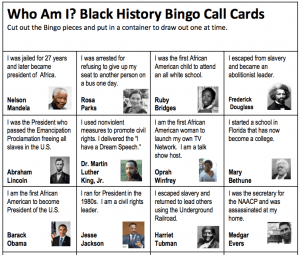Lively image pertaining to black history quiz questions and answers printable