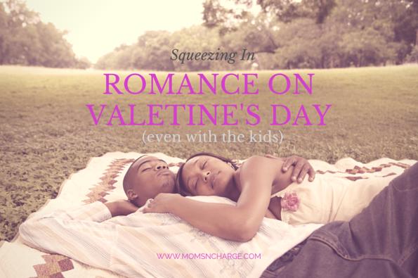 Romance on Valentine's Day with kids