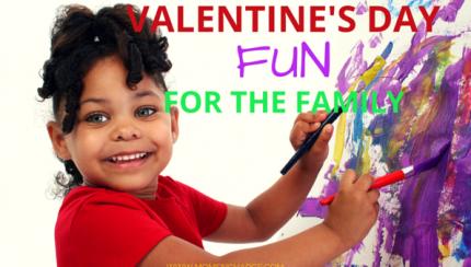 Valentine's Day Fun kids crafts