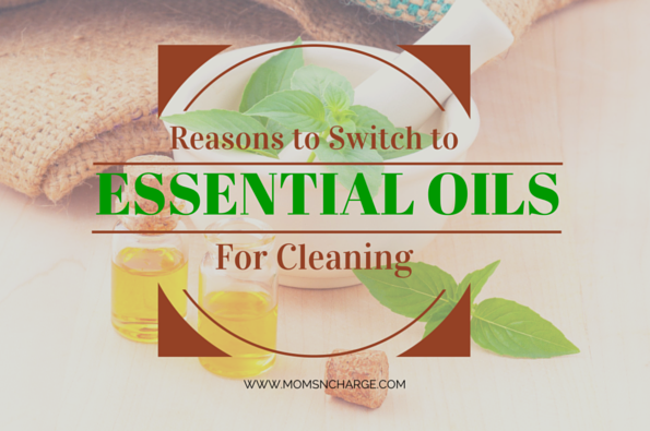 essential oils DIY cleaner
