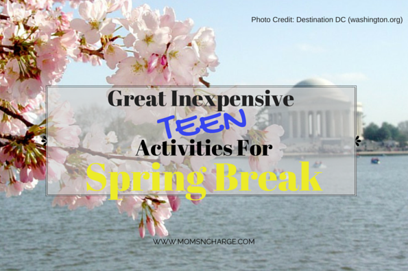 spring break teen fun activities