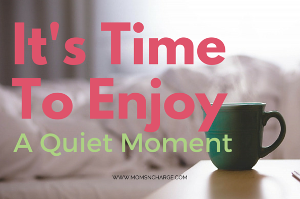 quiet moment coffee relax
