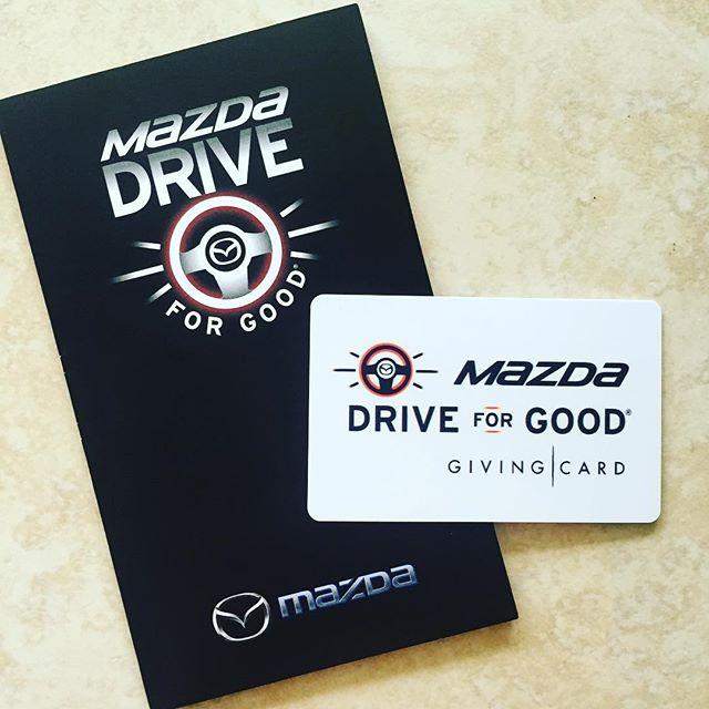 Mazda #DriveForGood