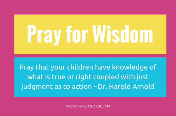 5 daily prayers for your children quote