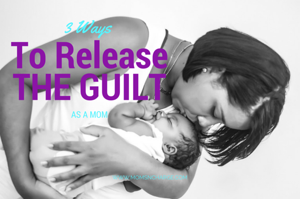 mom guilt african-american mom baby