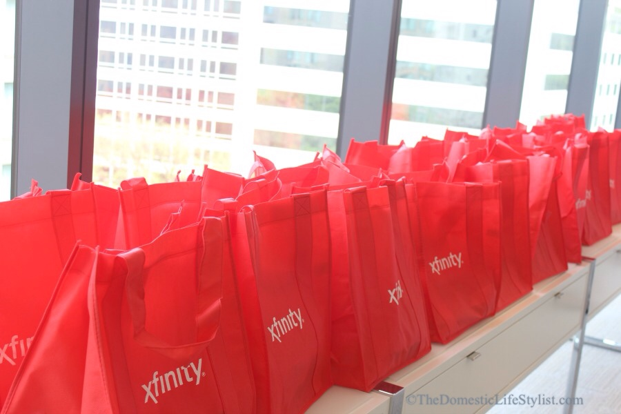 #XFinityMoms #ComcastConnects gift bags