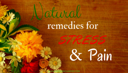 Natural Remedies For Stress And Pain