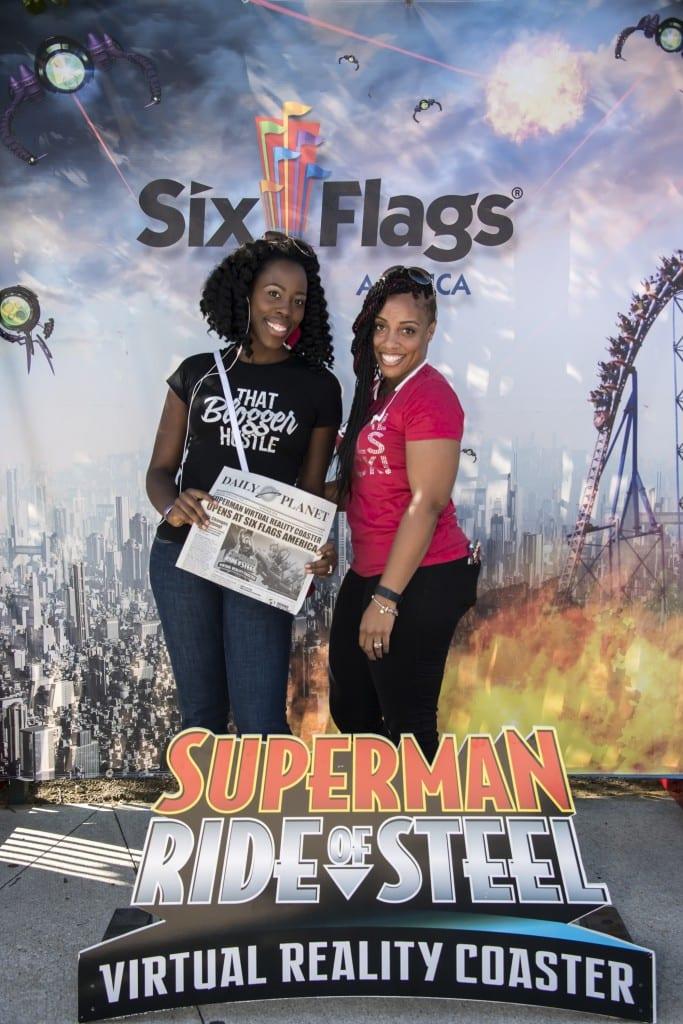 Christne & Jamari - superman vrc six flags