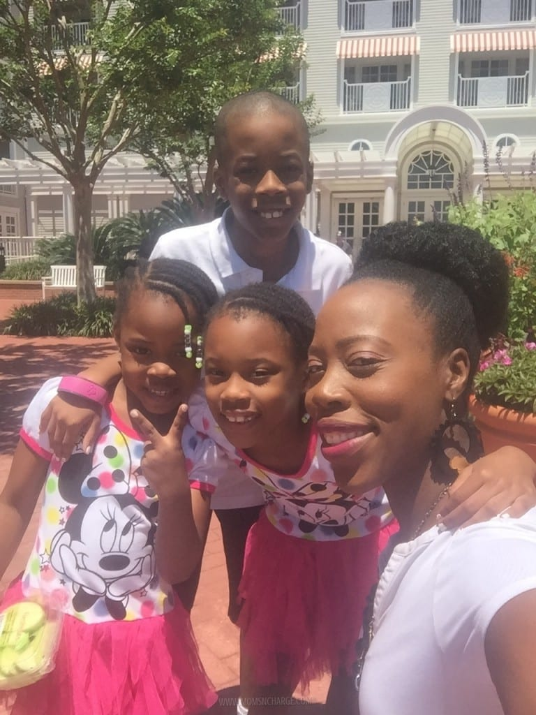 Enjoying Mother's Day with the babies.