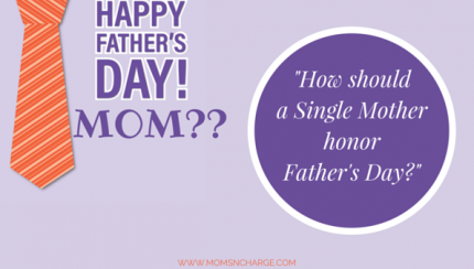 Father's Day - Single mother
