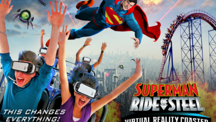 Superman Virtual Reality Key Art