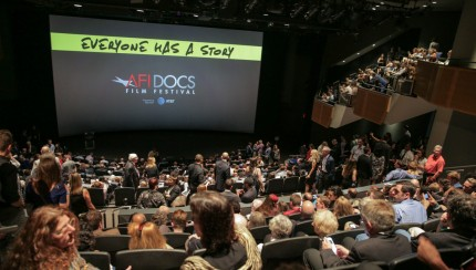 A packed house at the Newseum for the Opening Night Screening and North American Premiere of ZERO DAYS on June 22, 2016. Courtesy of AFI DOCS/Seth Pierson. Photo Credit: AFI DOCS Film Festival