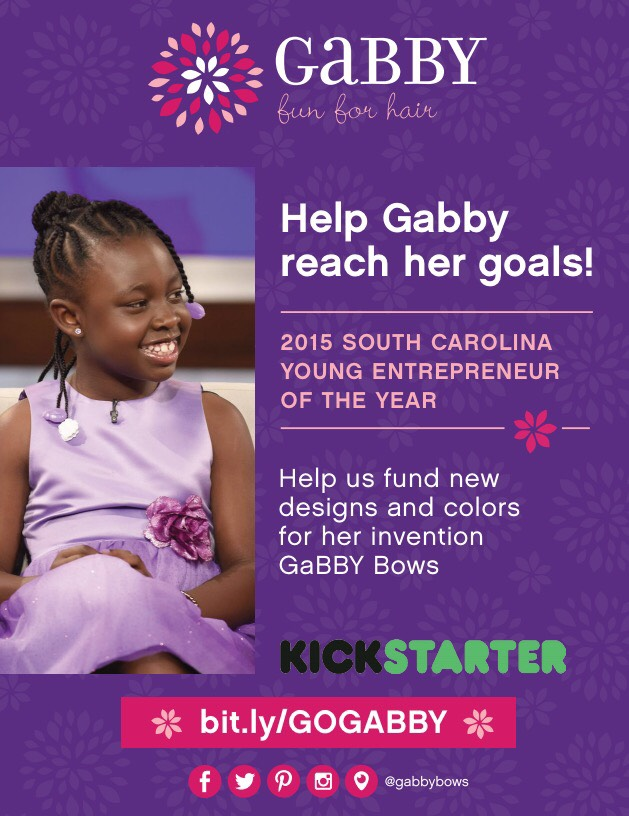 Gabby Bows Kickstarter 2