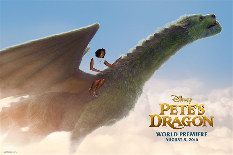 Christine on #PetesDragon