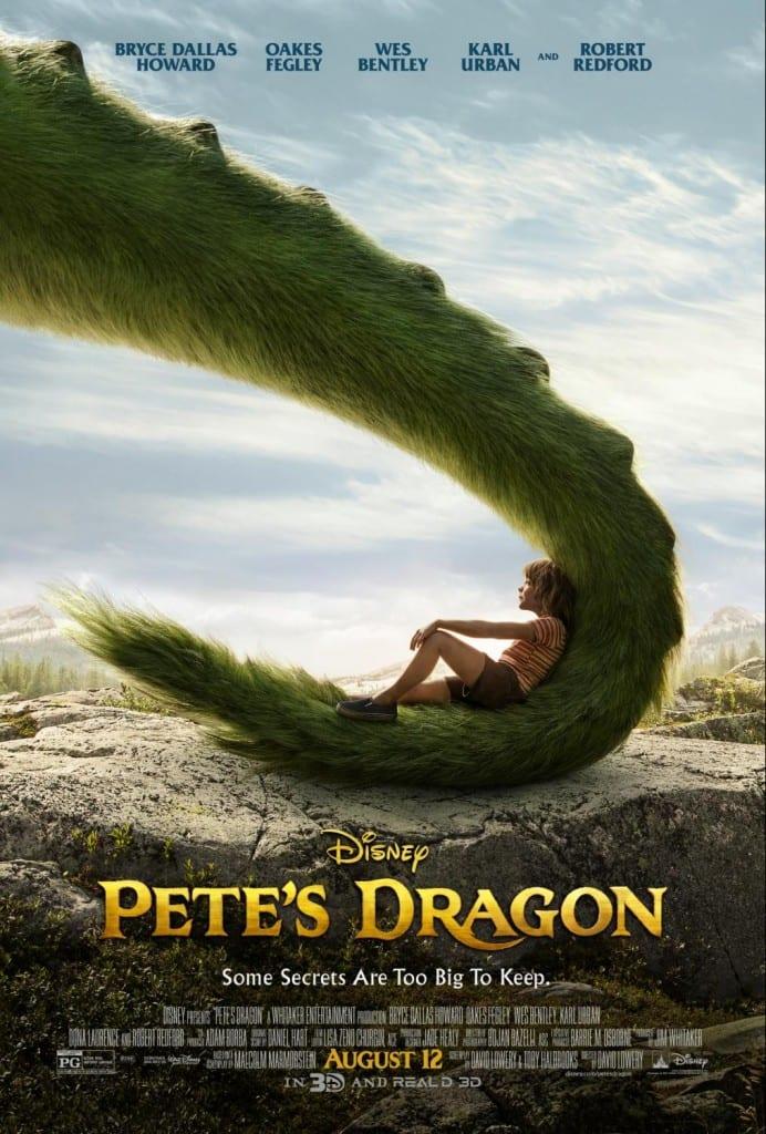 Pete's Dragon artwork