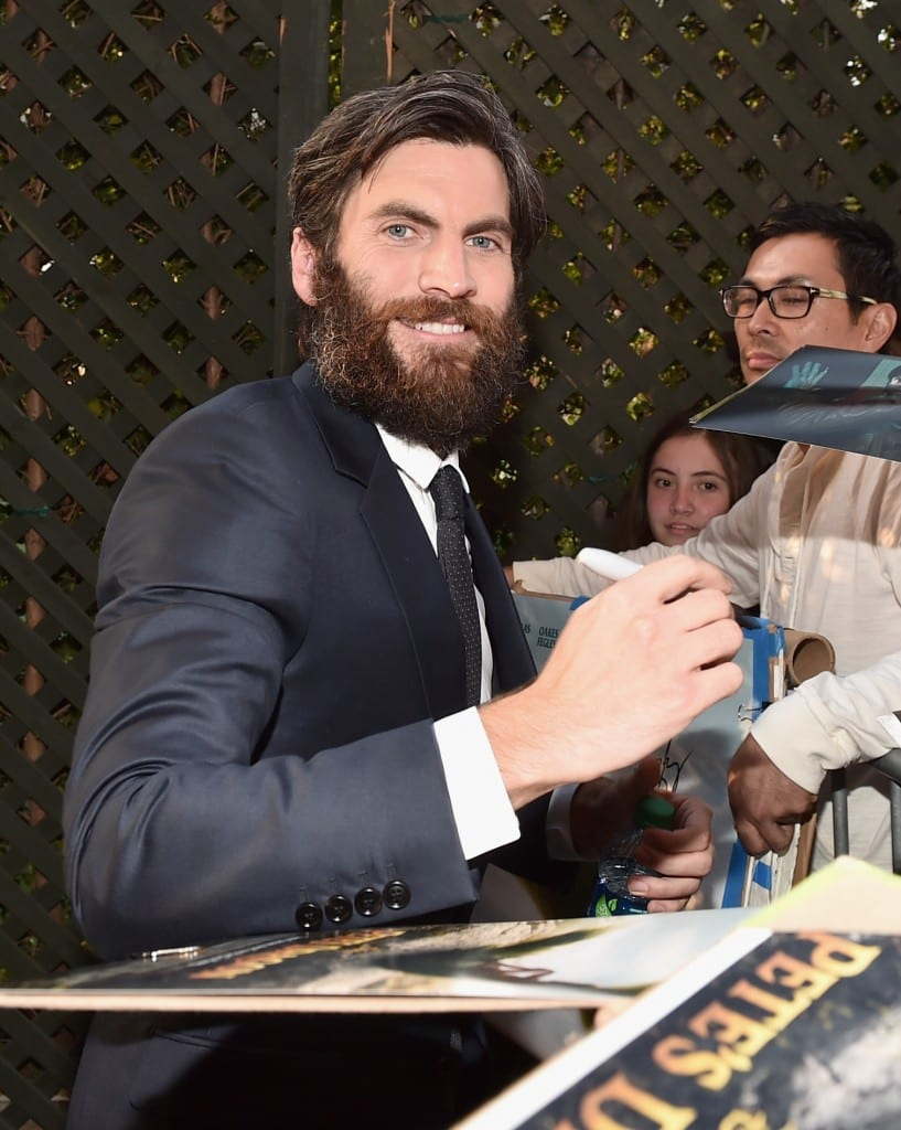 """HOLLYWOOD, CA - AUGUST 08:  Actor Wes Bentley arrives at the world premiere of Disney's """"PETE'S DRAGON"""" at the El Capitan Theater in Hollywood on August 8, 2016. The new film, which stars Bryce Dallas Howard, Robert Redford, Oakes Fegley, Oona Laurence, Wes Bentley and Karl Urban and is written and directed by David Lowery, has been drawing rave reviews from both audiences and critics. PETE'S DRAGON opens nationwide August 12, 2016.  (Photo by Alberto E. Rodriguez/Getty Images for Disney ) *** Local Caption *** Wes Bentley"""