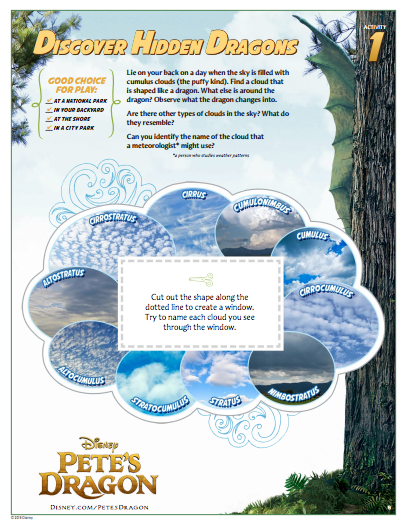 #petesdragonevent activity and coloring sheets
