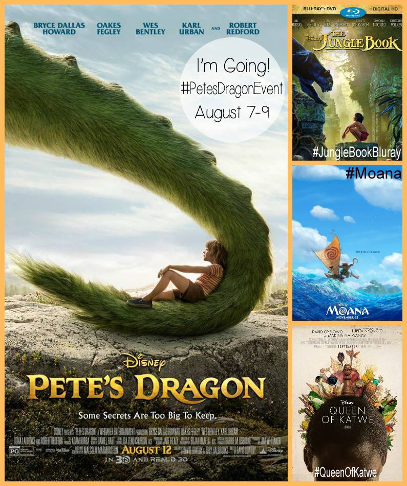 #petesdragonevent posters