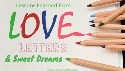 written letters & sweet dreams