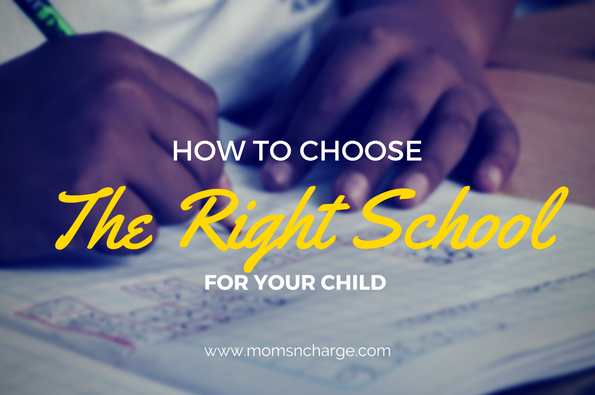 How To Choose the Right School for Your Child