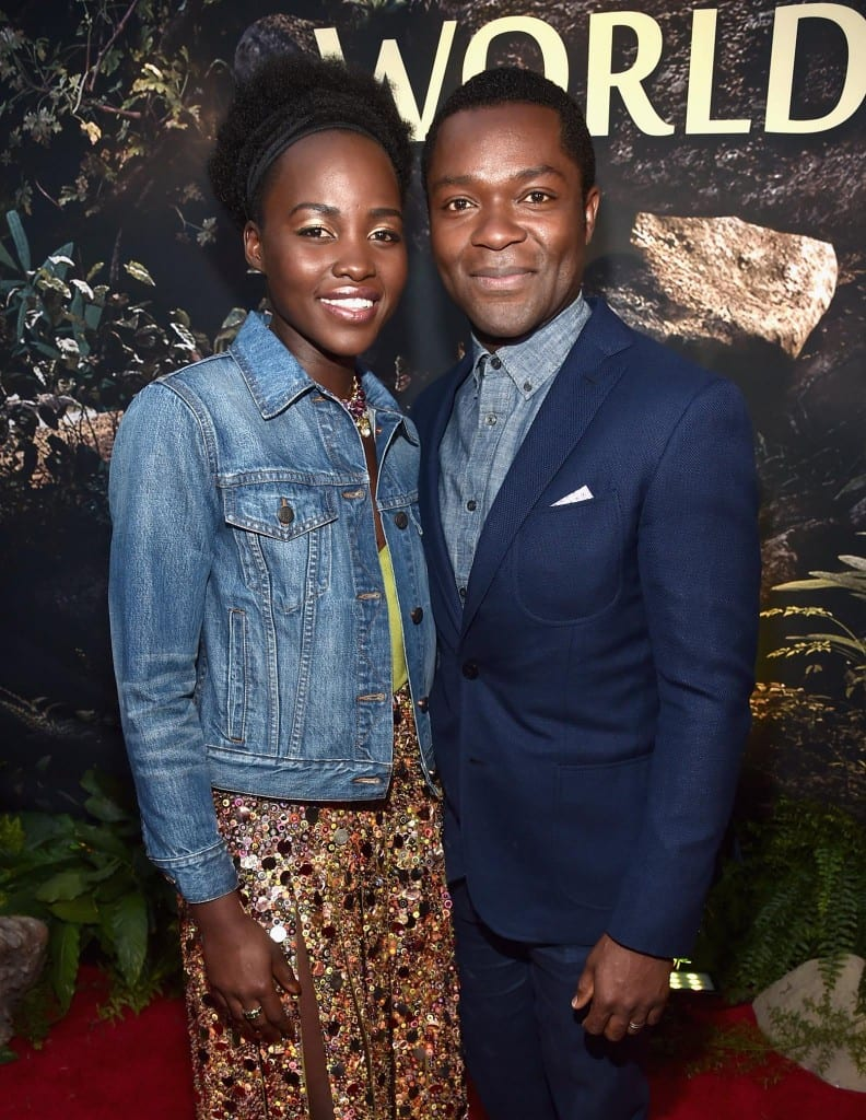 Lupita Nyong'o (who plays Phiona's mother, -----) and David Oyelowo (who plays Robert Katende).