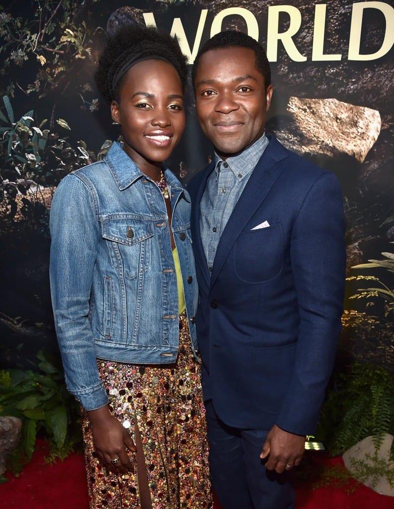 Lupita Nyong'o (who plays Phiona's mother, -----) and David Oyelowo (who plays Robert Katende).