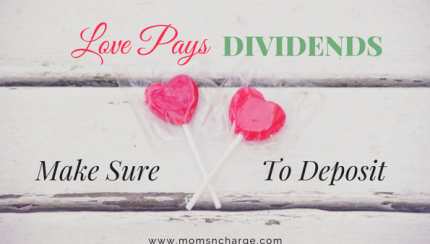 love pays dividends