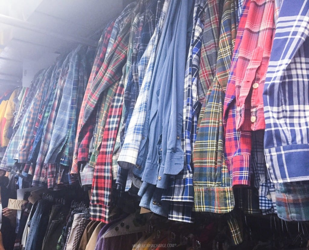 The Middle - We were amazed at just how many combinations of plaid actually existed :)