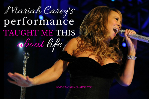 mariah carey new years performance